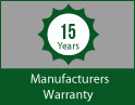 15 Year Artificial Grass Warranty