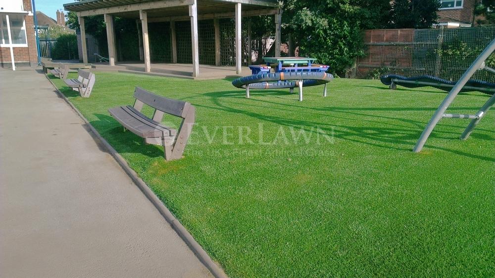 EverLawn Artificial Grass at Westcliffe Primary School Bispham Lancashire