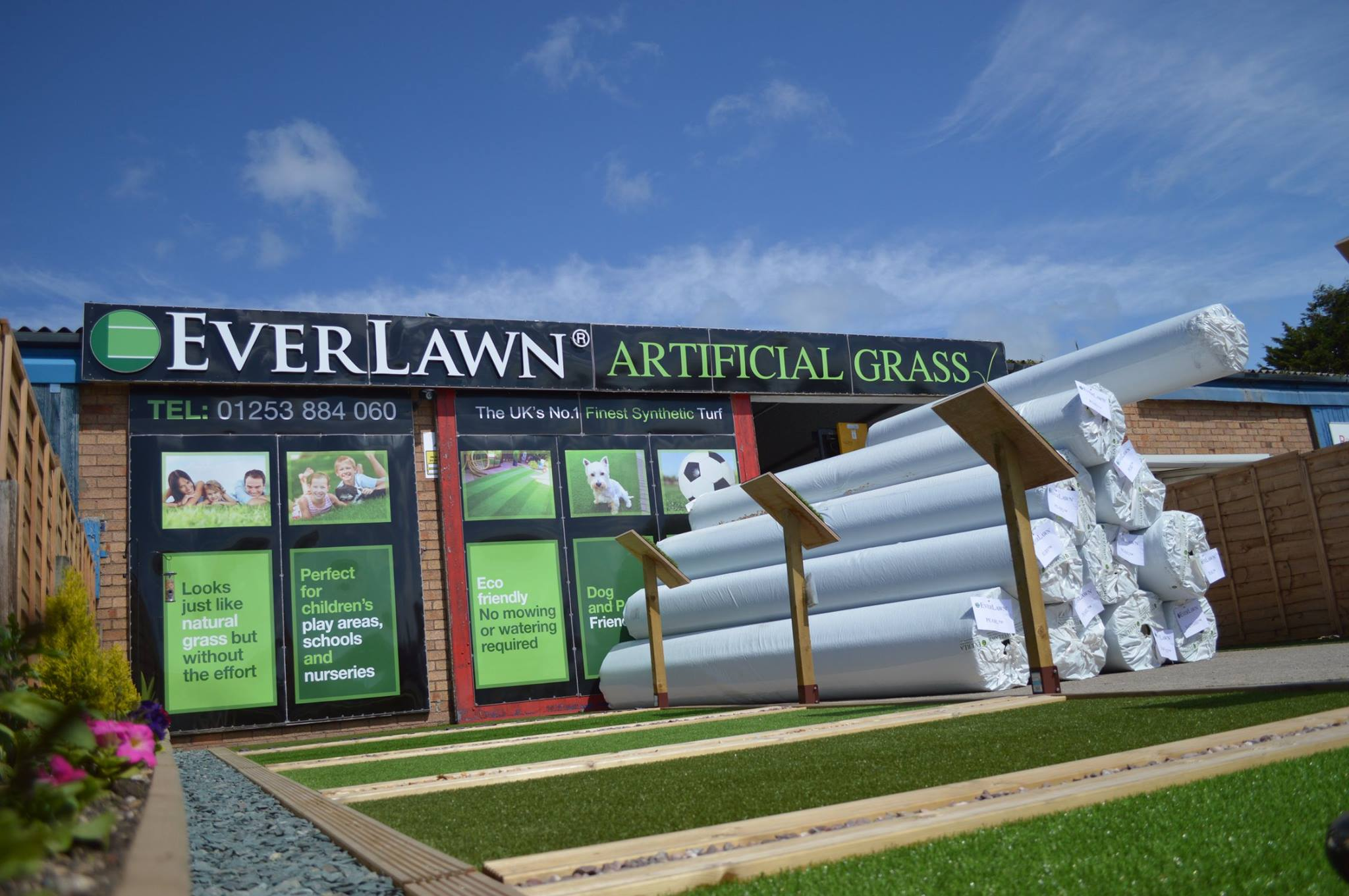 EverLawn Artificial Grass Showroom Poulton
