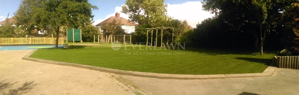 Artificial Grass Installed at St. Teresa's Catholic Primary School