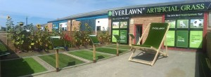 EverLawn Giant Artificial Grass Deckchairs at Poulton